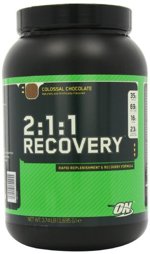 Optimum Nutrition 2:1:1 Recovery, Colossal Chocolate, 3.73-Pounds