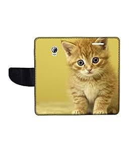 KolorEdge Printed Flip Cover For Lenovo P1 Multicolor - (1479-55KeMLogo10608LenovoP1)