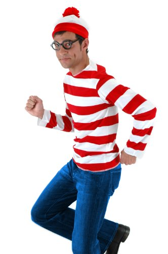$24.99 Elope Where's Waldo Adult Costume Kit