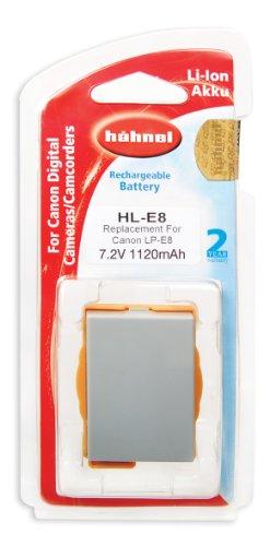 Hähnel HL-E8 Batteria di ricambio tipo Canon LP-E8 7,2V 1070mA per EOS 550D
