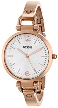 "Fossil Women's ES3110 ""Georgia"" Stainless Steel Bangle Watch"