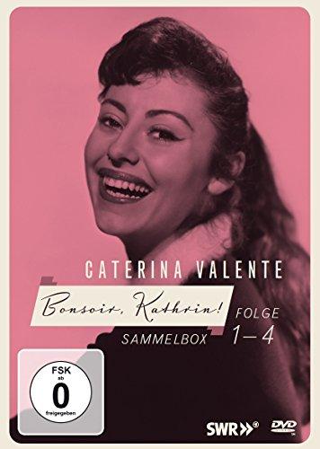 Caterina Valente - Bonsoir, Kathrin! Folge 1-4 Sammelbox (4DVDs)