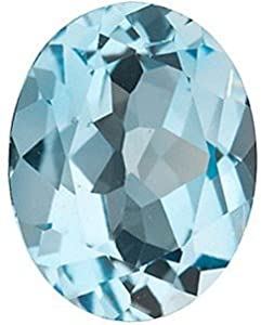 Oval Shape Sky Blue Topaz Beautiful Natural Loose Faceted Gemstone, Quality Grade, AAA 16.00 x 12.00 mm