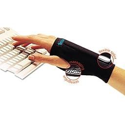 SmartGlove Wrist Wrap, Small, Black, Sold as 1 Each