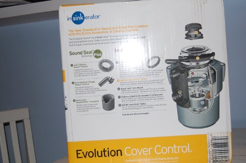 Insinkerator Evolution Cover Control Garbage Disposal Batch Feed Motor HP: 3/4 With Cord (Insinkerator Evolution Control compare prices)