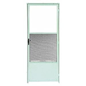 Style 563 combination glass and screen insulating storm for Door and screen door combo
