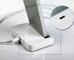 iPhone5 ipod touch 5充電スタンド クレードル Lightninng コネクタ接続 Dock