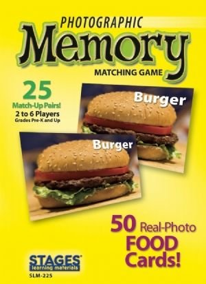 Photographic Memory: Foods - Buy Photographic Memory: Foods - Purchase Photographic Memory: Foods (Stages Learning Materials, Toys & Games,Categories,Games,Card Games,Flash Cards)