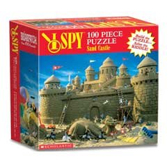 I SPY Sand Castle Jigsaw Puzzle 100pc