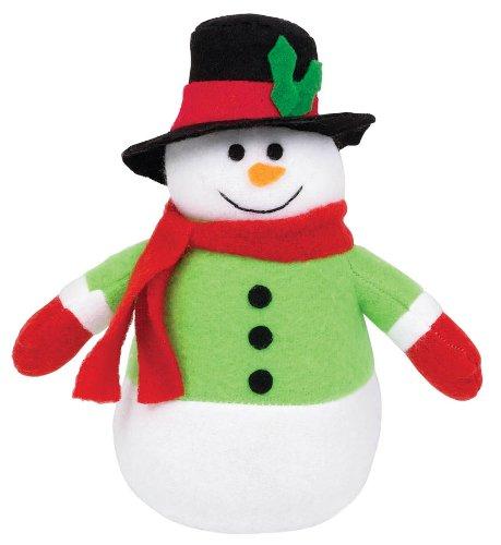 ornament plush snowman 6 inches