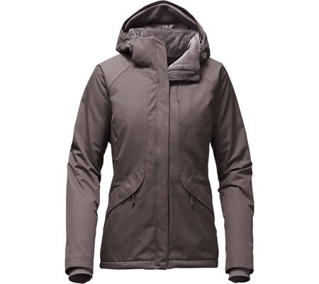 The North Face Inlux Womens Insulated Ski Jacket - Large/Quail Grey Heather (Ski Jacket Women Insulated compare prices)