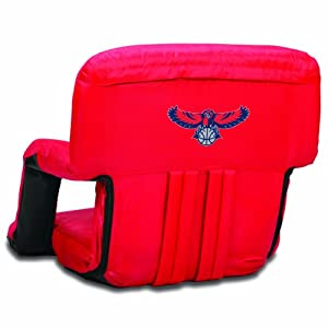 NBA Atlanta Hawks Ventura Portable Reclining Seat by Picnic Time