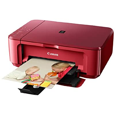 Canon PIXMA MG 3570 Multi Function Inkjet Color Printer (Red)