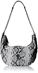 Halston Heritage Hobo Bag, Black/Multi, One Size