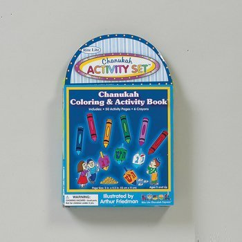 Chanukah Activity Set - Carry Along With Crayons