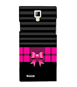 Pink Girly Pattern Cute Fashion 3D Hard Polycarbonate Designer Back Case Cover for Micromax Canvas Xpress A99 :: Micromax A99 Canvas Xpress