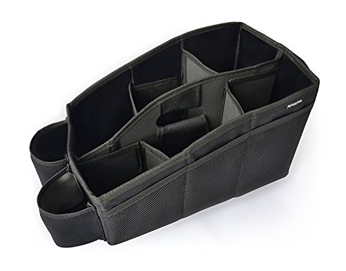 auto organizer utensilientasche f r den autositz mit 2 befestigungsm gli heldeon. Black Bedroom Furniture Sets. Home Design Ideas