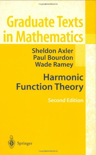 Harmonic Function Theory