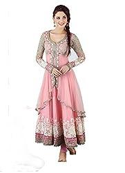 Bhakti Creation Women Net Dress Material