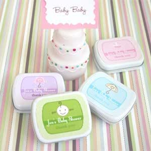 baby shower mint tins baby shower gifts wedding