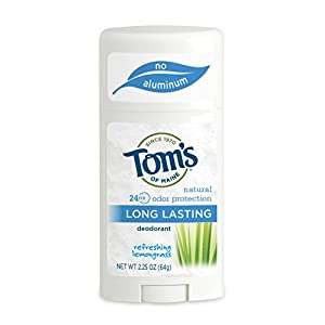 Toms of Maine Body Care Long Lasting Deodorant Stick Lemongrass 2.25 osz. 217912