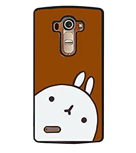 Printvisa 2D Printed Cartoon Designer back case cover for LG G4- D4302