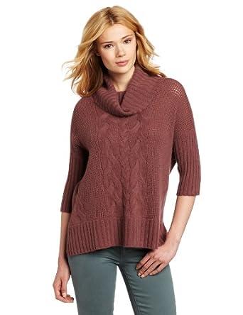 (羊绒)美国大牌 Design History 女式100%羊绒兜帽领毛衣 $$75.76