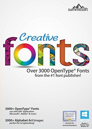 Creative Fonts [Download] (Font Software For Mac compare prices)