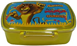 Dreamworks Madagascar Lunch Box, 60mm, Yellow