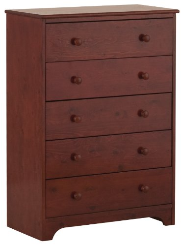 Canwood 5 Drawer Chest - Cherry