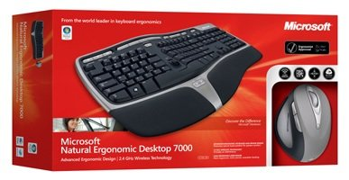 Microsoft Natural Ergonomic Wireless Desktop 7000 (French) (Natural Keyboard 7000 compare prices)