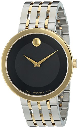 Movado-Mens-Swiss-Quartz-and-Stainless-Steel-Casual-Watch-ColorTwo-Tone-Model-0607058