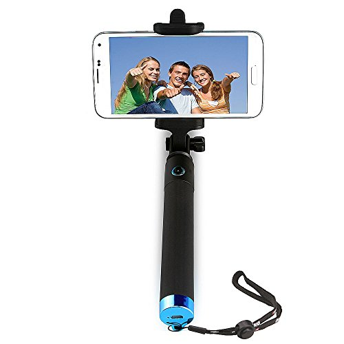hatori extendable handheld wireless bluetooth selfie stick with universal phone holder for. Black Bedroom Furniture Sets. Home Design Ideas