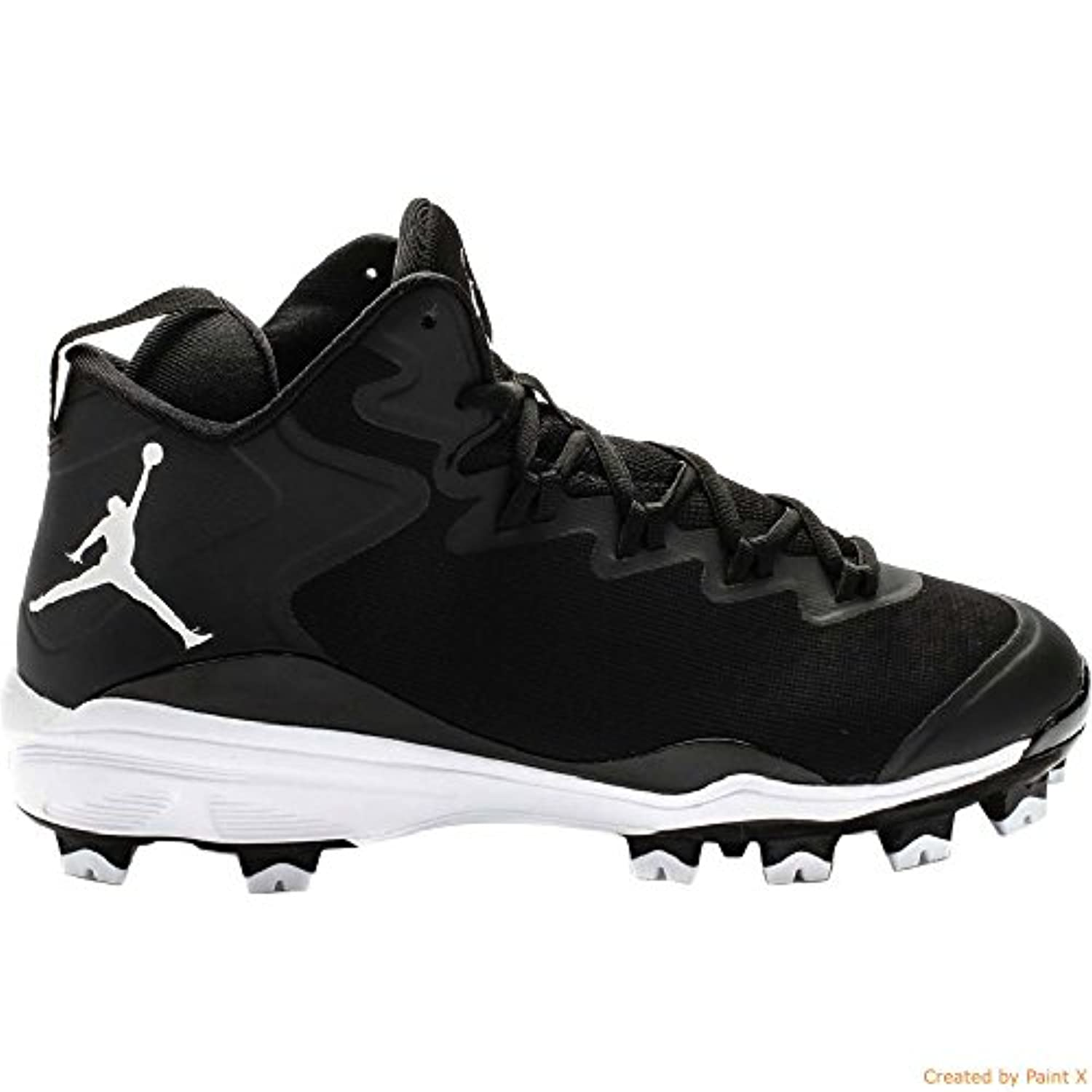 jordan kids super.fly 3 mcs mid baseball cleats