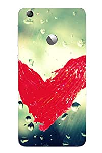 Accedere Printed Back Cover Case for Letv Le 1S