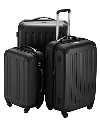 HAUPTSTADTKOFFER® Set di valigie · (49.0;82.0;128.0 liters) · TSA BLOCCO · NERO