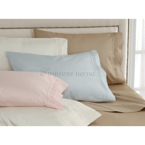 Pintuck Sheets Set 400 Thread Count Cotton by Empress