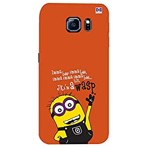 Wosp Minions - Mobile Back Case Cover For Samsung Galaxy S7
