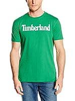 Timberland Camiseta Manga Corta Tfo Ss Linear Logo T (Verde)