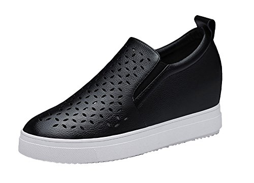 christmas-tmates-womens-casual-slip-on-punching-hidden-wedge-pu-leather-loafers-7-bmusblack