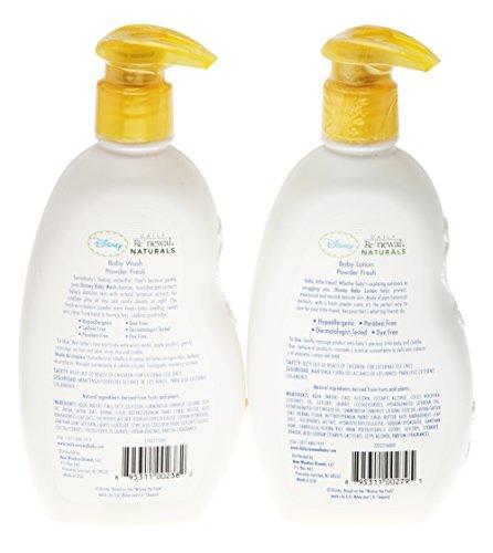 Disney Daily Renewal Naturals Hair And Body Baby Wash