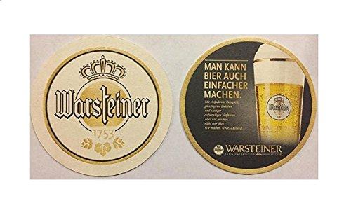 warsteiner-1753-man-kann-bier-auch-einfacher-machen-20-beer-bar-pub-round-coasters-new