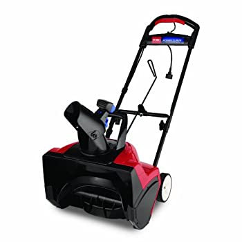 Toro 38381 18-Inch 15 Amp Electric 1800 Power Curve Snow Blower               Power Curve technology carves paths 18 inches wide and up to 12 inches deep down to the pavement, and throws snow up to 30 feet.  Click here for a larger image  Ideal for...