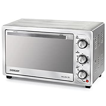 Eveready Relish 35 Ltr Oven Toaster Griller at amazon
