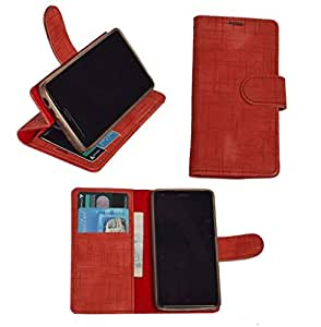 R&A Pu Leather Wallet Flip Case Cover With Card & ID Slots & Magnetic Closure For Samsung Galaxy Note 3