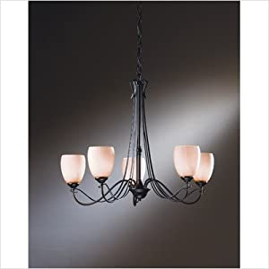 Hubbardton Forge Trellis Five Light Chandelier | LampsPlus.com