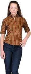 Belle Women's Checkered Casual Shirt