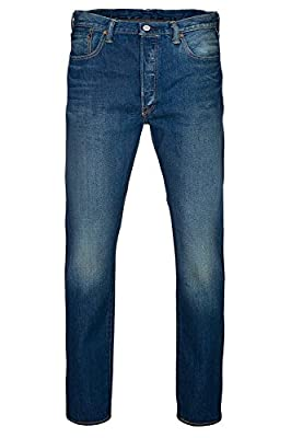 Levi's Men's 501 Customized & Tapered Jeans, Blue