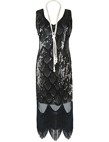 Prettyguide-Women-20s-Great-Gatsby-Sequin-Fishscale-Embellished-Fringe-Flapper-Dress