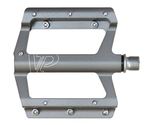 VP Components Downhill or Freeride Mountain Bike Pedals (9/16-Inch, Gray)